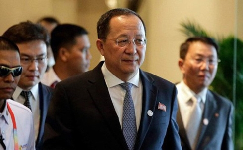 DPRK Foreign Minister Ri Yong-ho visits China