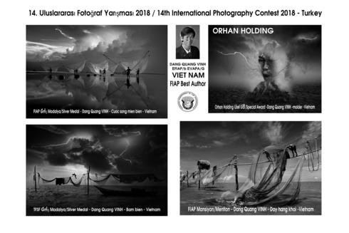 Vietnamese photographers win international contest