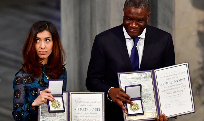 2018 Nobel Prizes awarded in Sweden and Norway