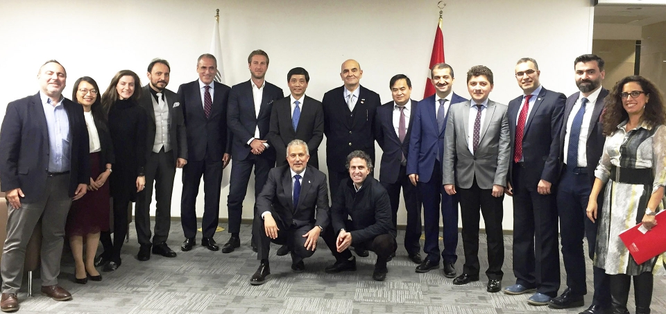 Vietnamese Embassy in Turkey connects with business community in Istanbul
