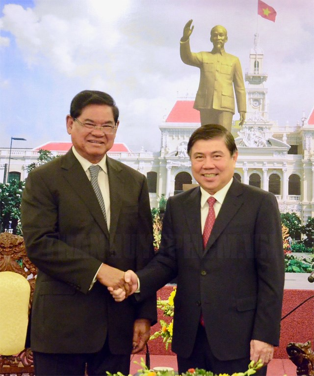 Ho Chi Minh city, Cambodia increase cooperation in urban management and development