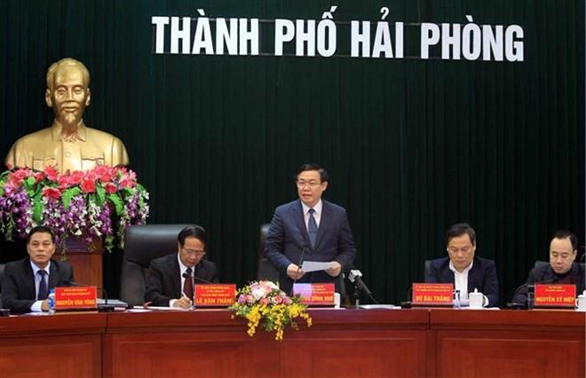 Deputy PM makes FDI fact-finding tours of Hai Phong, Bac Ninh