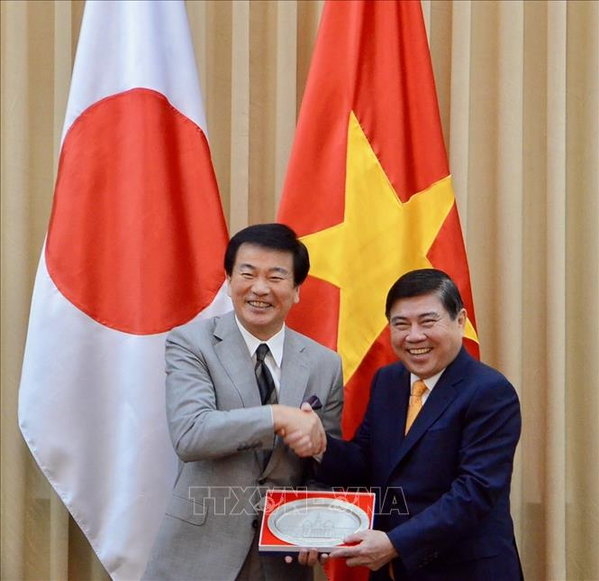 Ho Chi Minh city wants to increase urban innovation cooperation with Japanese prefecture