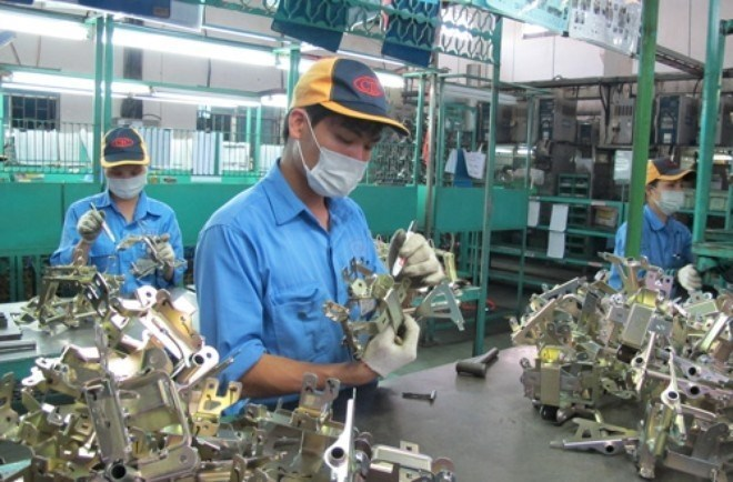 Vietnamese firms' presence in global chains remains modest