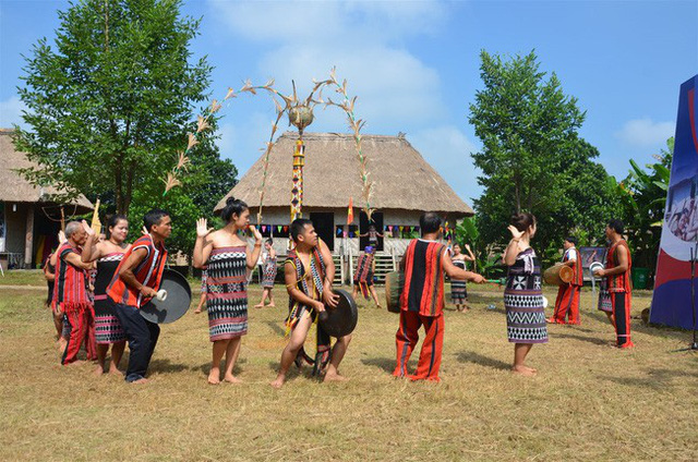January activities at the Vietnam National Village for Ethnic Culture and Tourism