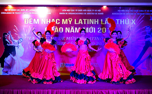 Latin American Music Gala in Hanoi