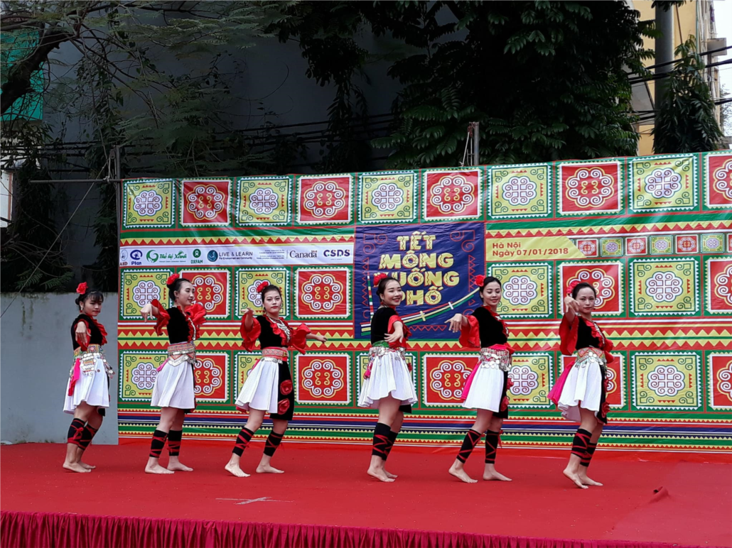 New Year celebration of H'mong ethnic group in Hanoi