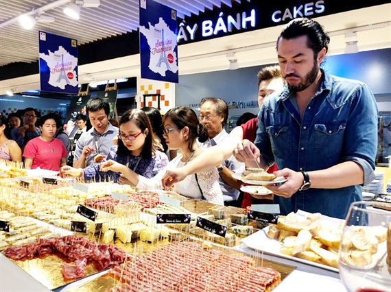 French culture and foods to be introduced in HCM city