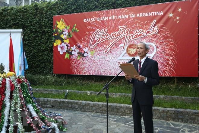 Community Tet 2019 held for overseas Vietnamese in Argentina