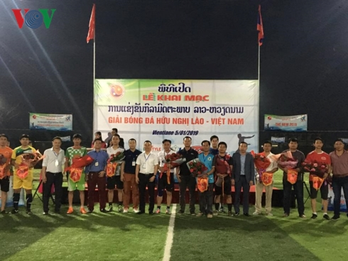 Laos - Vietnam friendship football tournament 2019