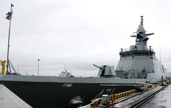 Royal Thai Navy frigate visits Da Nang