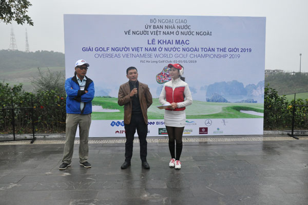 Overseas Vietnamese World Golf Championship 2019 in Quang Ninh