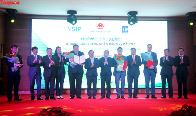VSIP Quang Ngai licenses four new projects