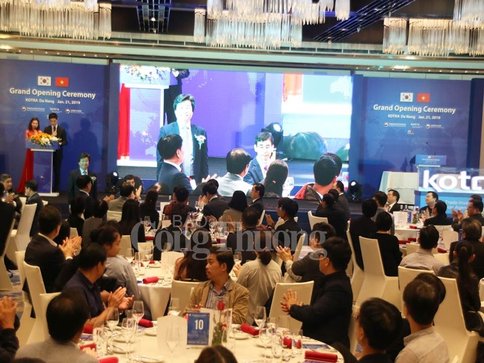Korean trade agency opens third Vietnam office in Da Nang