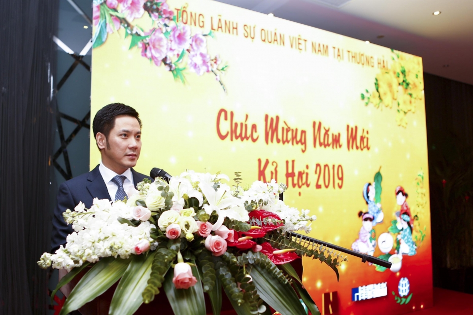 Tet event held for Vietnamese community in China's Shanghai