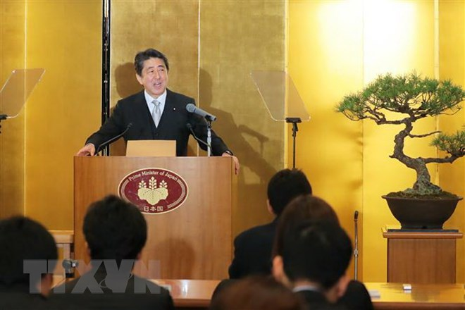 Japanese PM Shinzo Abe visits Netherlands, UK
