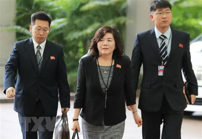 DPRK's top official attends international conference in Sweden