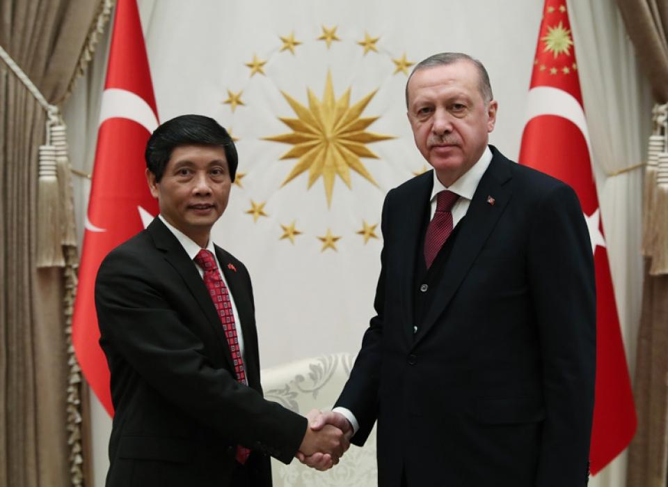 Vietnam - Turkey strive to reach trade turnover of USD4 billion by 2020