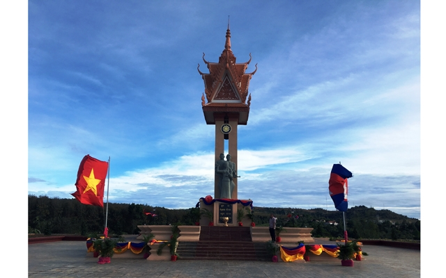 Vietnam-Cambodia Friendship Monument inaugurated in Mondulkiri province