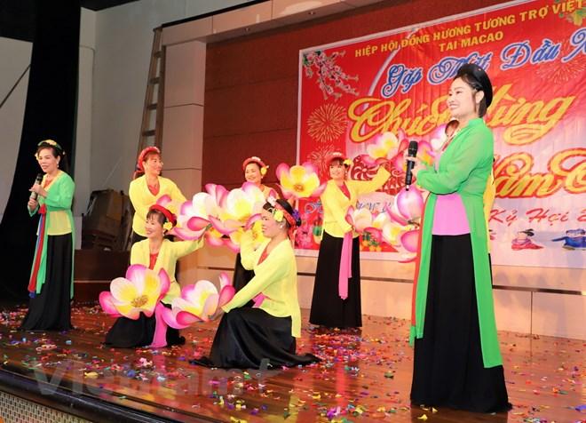 Vietnamese community in China's Macau celebrates Lunar New Year of Pig 2019