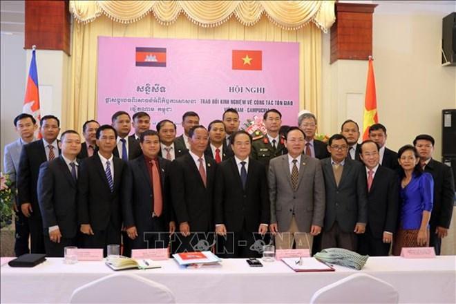 Vietnam, Cambodia share experience in religious affairs