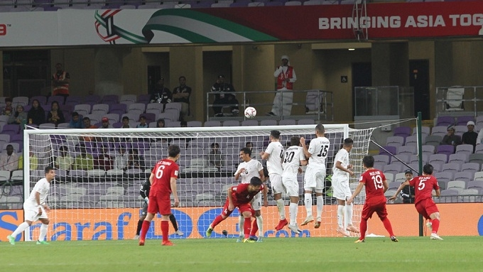 "Vietnamese midfielder wins ""Best Goal"" award at 2019 Asian Cup"
