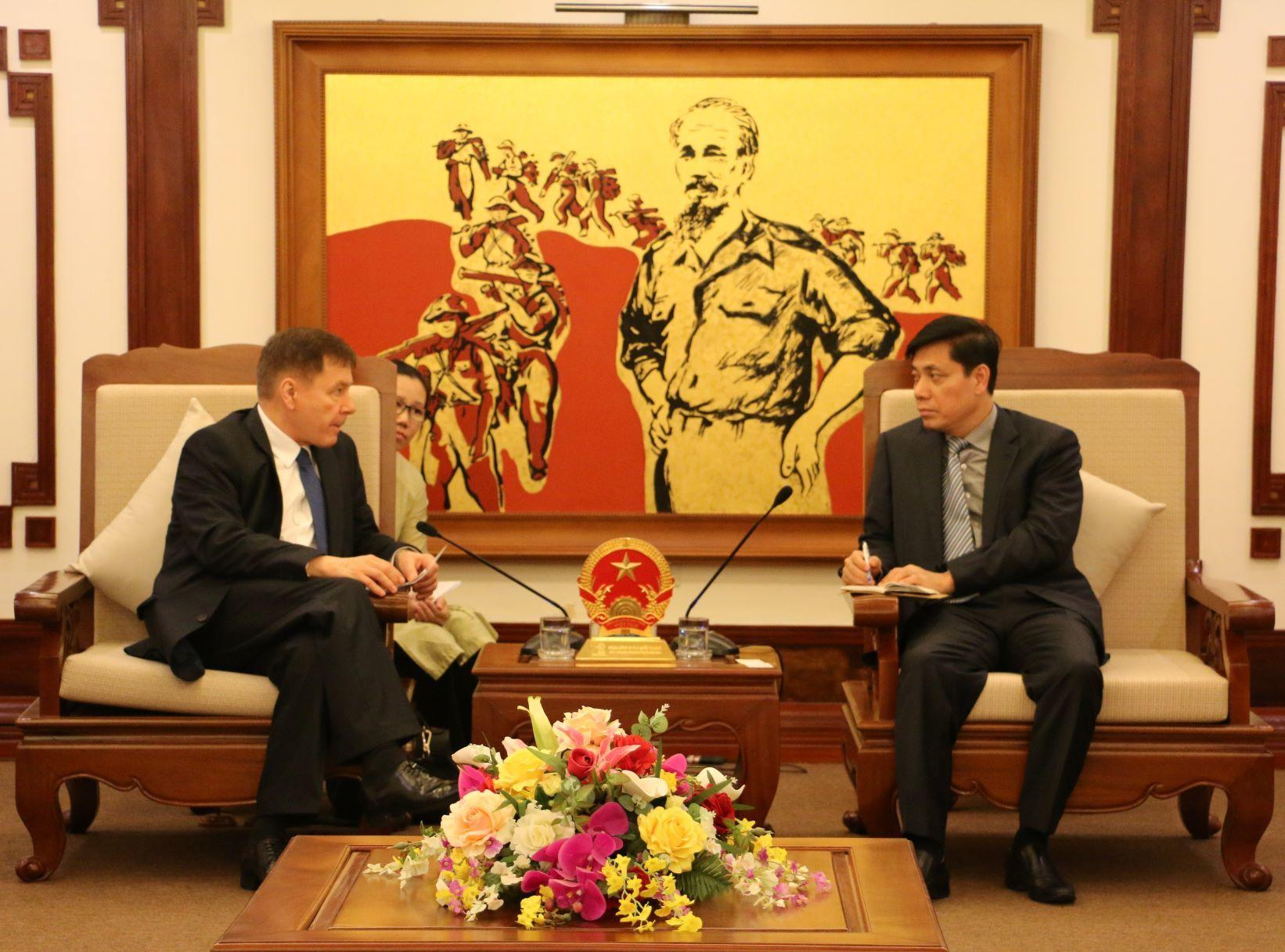 Ukraine proposes opening Kiev - Ho Chi Minh city direct flight