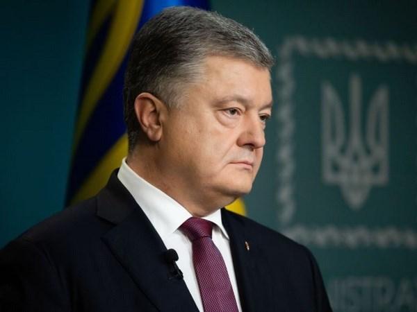 Ukraine's President announces re-election campaign