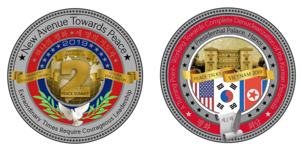 New coins issued for 2nd US - DPRK summit