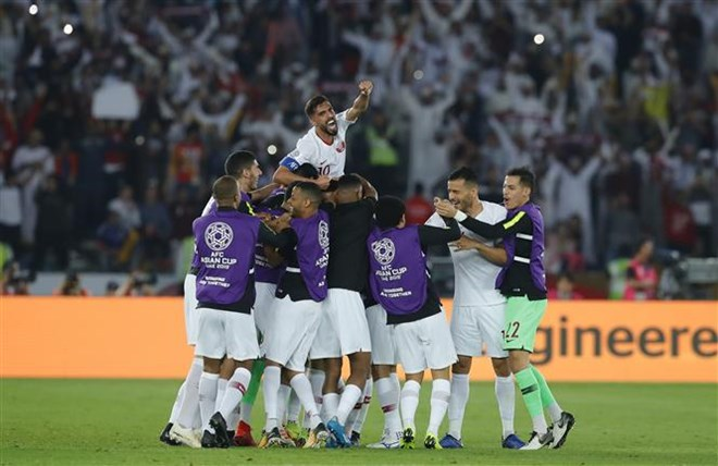 Qatar claim 2019 AFC Asian Cup