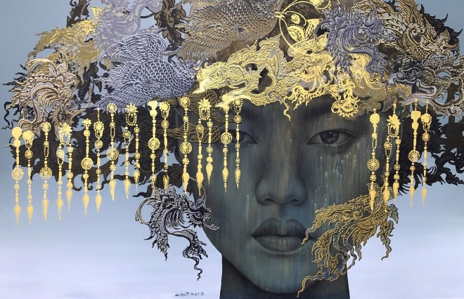 Thai artist brings a new experience to local art lovers