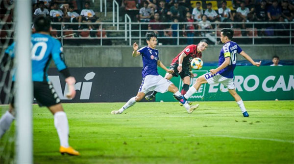Hanoi FC beat Bangkok United 1-0 in AFC Champions League