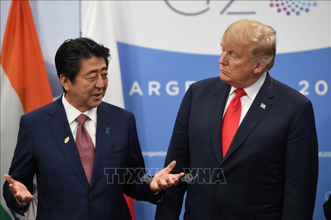 Donald Trump calls Shinzo Abe ahead of 2nd US - DPRK summit