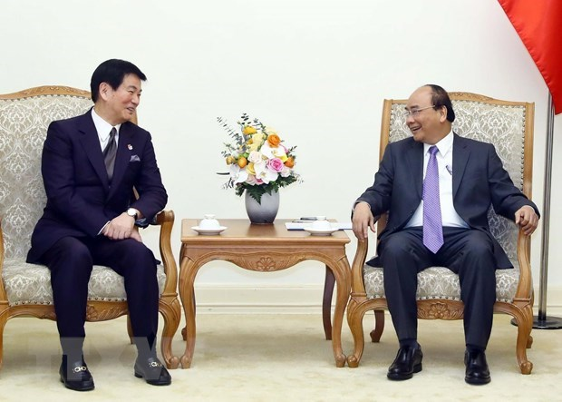 Prime Minister hosts Governor of Japan's Chiba prefecture