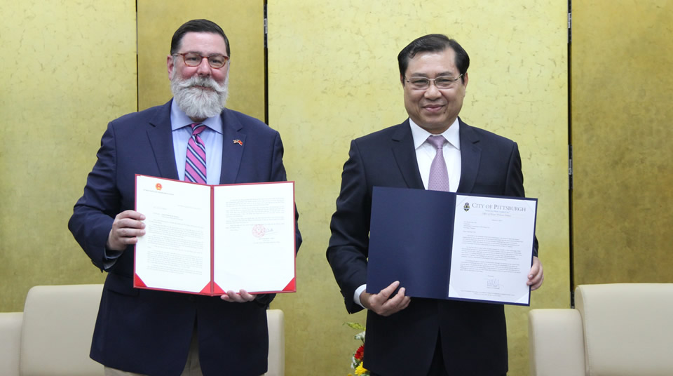 Da Nang city increases cooperation with US city
