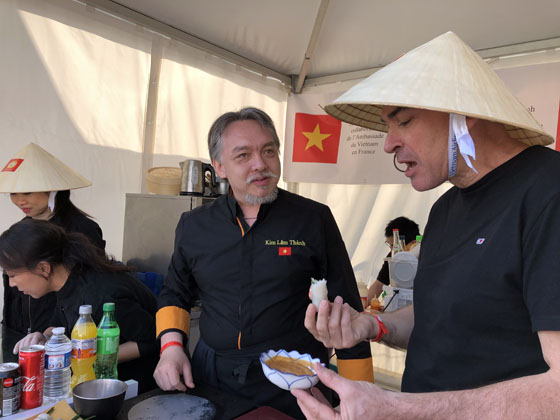 Vietnamese cuisine at International Gastronomy Village in Paris