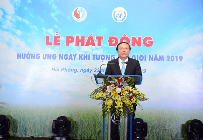 Vietnam responds to World Meteorological Day 2019