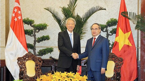 Singaporean trade and investment relationship with Ho Chi Minh city appreciated