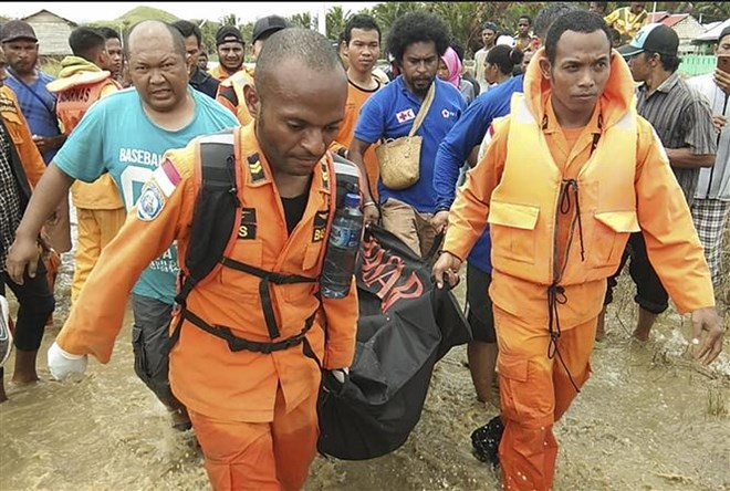 At least 107 killed in Indonesia