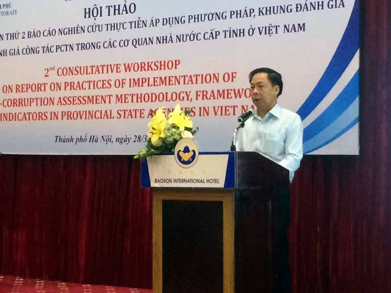 Reviewing two-year implementation of provincial anti-corruption assessment - PACA