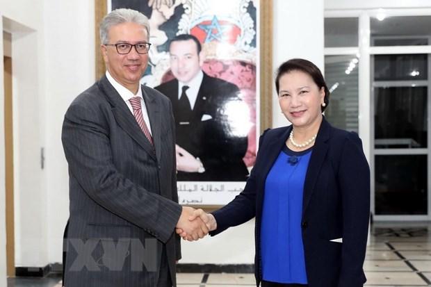 Top legislator hopes for friendship between Vietnamese, Moroccan localities