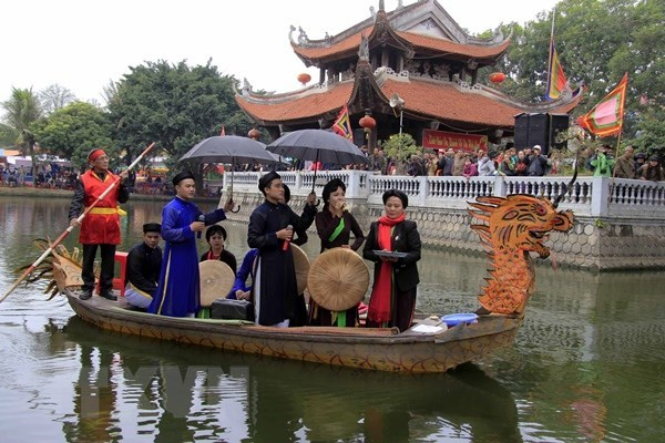 Festival marking 10 years of Quan ho folk singing UNESCO recognition