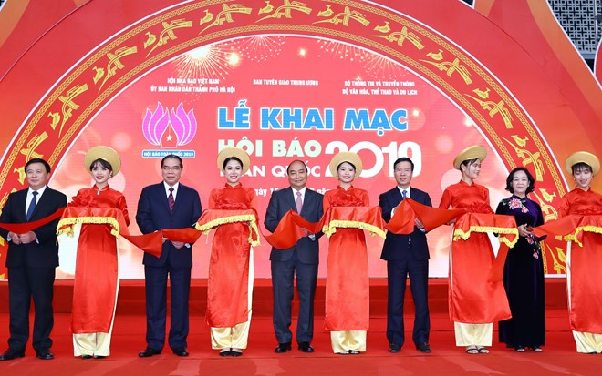 National Press Festival 2019 opens in Hanoi