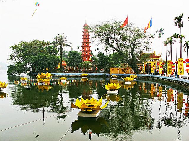 Tran Quoc among world top ten beautiful pagodas