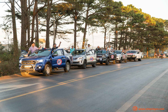 Caravan parade through three countries to be held in early April
