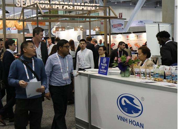 Vietnamese seafood promoted in North America