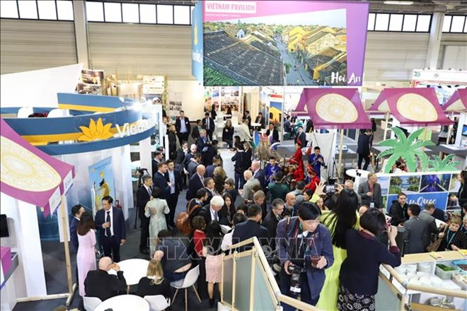 Vietnam promotes tourism at world's leading travel show in Berlin