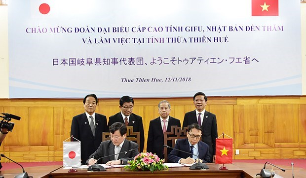 Thua Thien-Hue, Japan's Gifu prefecture work to promote tourism
