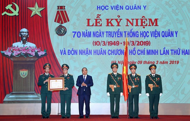 Vietnam Military Medical University honoured with Ho Chi Minh Order