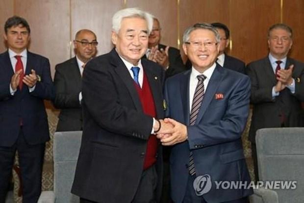 Two Koreas to showcase joint taekwondo performance in Switzerland in April